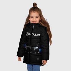 Куртка зимняя для девочки Lexus цвета 3D-черный — фото 2