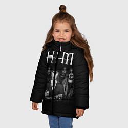 Куртка зимняя для девочки HIM Rock - фото 2