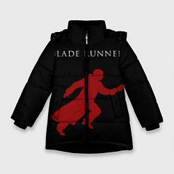 Куртка зимняя для девочки Blade Runner цвета 3D-черный — фото 1
