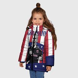Куртка зимняя для девочки Griezmann: Atletico Star цвета 3D-черный — фото 2