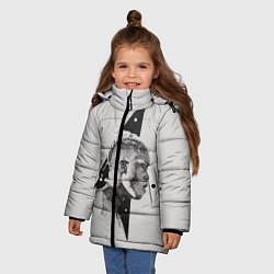 Куртка зимняя для девочки XXXtentacion цвета 3D-черный — фото 2