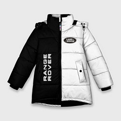 Куртка зимняя для девочки Land Rover: Range Rover цвета 3D-черный — фото 1