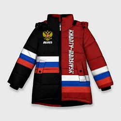 Куртка зимняя для девочки Khanty-Mansiysk, Russia цвета 3D-черный — фото 1