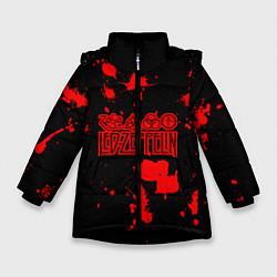 Куртка зимняя для девочки Led Zeppelin - фото 1