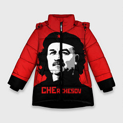 Куртка зимняя для девочки Che Rchesov цвета 3D-черный — фото 1