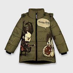 Куртка зимняя для девочки Wilson outcast цвета 3D-черный — фото 1