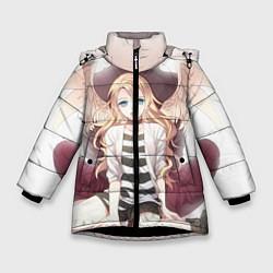 Куртка зимняя для девочки Angels of Death цвета 3D-черный — фото 1
