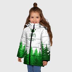 Куртка зимняя для девочки Сибирь - родина смелых - фото 2