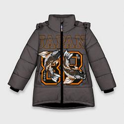 Куртка зимняя для девочки Japan 88 цвета 3D-черный — фото 1