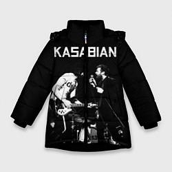 Куртка зимняя для девочки Kasabian Rock цвета 3D-черный — фото 1