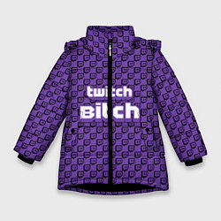 Куртка зимняя для девочки Twitch Bitch - фото 1