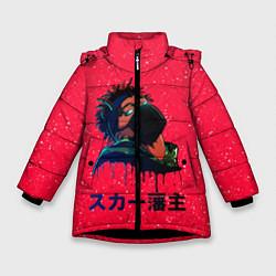 Куртка зимняя для девочки SCARLXRD Rap - фото 1