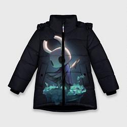 Куртка зимняя для девочки Hollow Knight цвета 3D-черный — фото 1