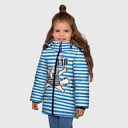 Куртка зимняя для девочки За ВДВ цвета 3D-черный — фото 2