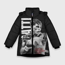 Куртка зимняя для девочки Gatti цвета 3D-черный — фото 1