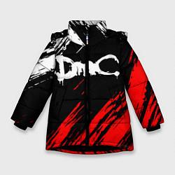 Куртка зимняя для девочки DEVIL MAY CRY DMC цвета 3D-черный — фото 1