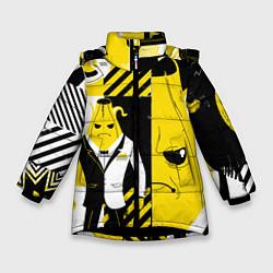 Зимняя куртка для девочки Agent Peely Агент Пили