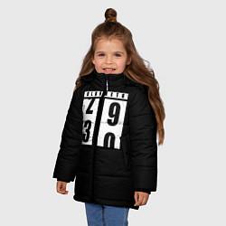 Куртка зимняя для девочки OLDOMETR 30 лет - фото 2