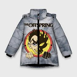 Куртка зимняя для девочки The Offspring цвета 3D-черный — фото 1