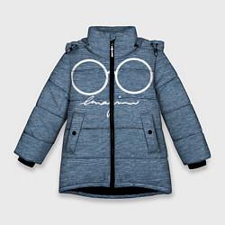 Куртка зимняя для девочки Imagine John Lennon цвета 3D-черный — фото 1
