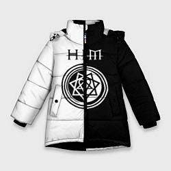 Куртка зимняя для девочки HIM - фото 1