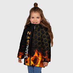 Куртка зимняя для девочки STANDOFF 2 - Z9 СТАНДОФФ 2 цвета 3D-черный — фото 2