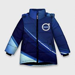 Куртка зимняя для девочки VOLVO цвета 3D-черный — фото 1