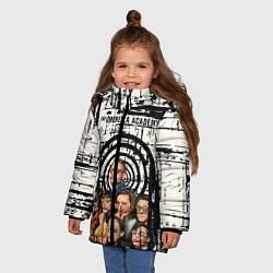 Куртка зимняя для девочки The Umbrella Academy цвета 3D-черный — фото 2