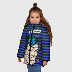 Куртка зимняя для девочки Superman! - фото 2