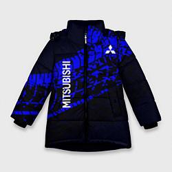Куртка зимняя для девочки Mitsubishi цвета 3D-черный — фото 1
