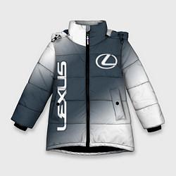 Куртка зимняя для девочки LEXUS ЛЕКСУС цвета 3D-черный — фото 1