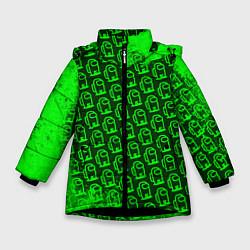 Куртка зимняя для девочки AMONG US АМОНГ АС цвета 3D-черный — фото 1