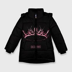 Куртка зимняя для девочки BLACKPINK- The Album цвета 3D-черный — фото 1