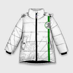 Куртка зимняя для девочки Адыгея моя цвета 3D-черный — фото 1