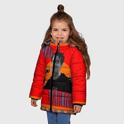 Куртка зимняя для девочки SLAVA MARLOW - фото 2