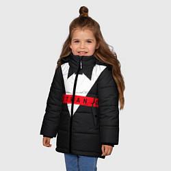 Куртка зимняя для девочки Hitman III цвета 3D-черный — фото 2