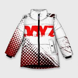 Детская зимняя куртка для девочки с принтом Dayz, цвет: 3D-черный, артикул: 10287511906065 — фото 1