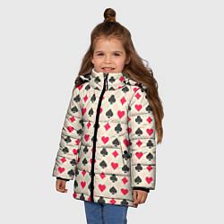 Куртка зимняя для девочки Масти цвета 3D-черный — фото 2