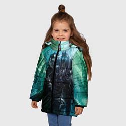 Детская зимняя куртка для девочки с принтом Король Лич, цвет: 3D-черный, артикул: 10065053606065 — фото 2