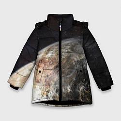 Куртка зимняя для девочки Плутон - фото 1