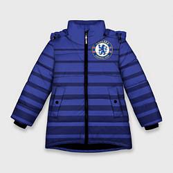 Куртка зимняя для девочки Chelsea: Zola цвета 3D-черный — фото 1