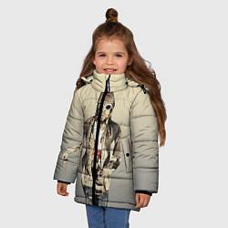 Куртка зимняя для девочки Kurt Art цвета 3D-черный — фото 2