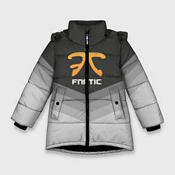 Куртка зимняя для девочки Fnatic Uniform цвета 3D-черный — фото 1