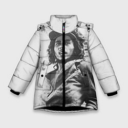 Куртка зимняя для девочки Молодой Боб Марли цвета 3D-черный — фото 1