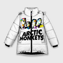 Куртка зимняя для девочки Arctic Monkeys: Music Wave - фото 1