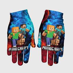 Перчатки Minecraft Майнкрафт
