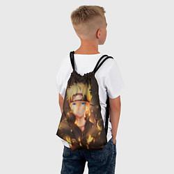 Рюкзак-мешок НАРУТО цвета 3D-принт — фото 2