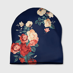 Шапка Fashion flowers