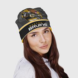 Шапка Boston Bruins цвета 3D — фото 2