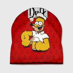 Шапка Duff Beer цвета 3D-принт — фото 1